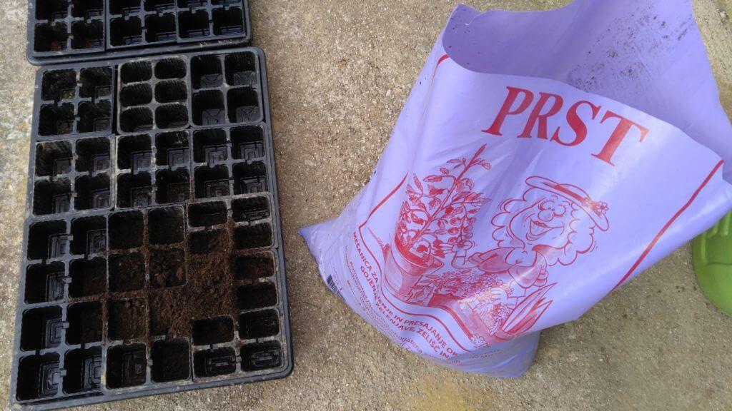 Substrat za pikiranje sadik