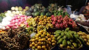 Obilje sadja na tržnicah