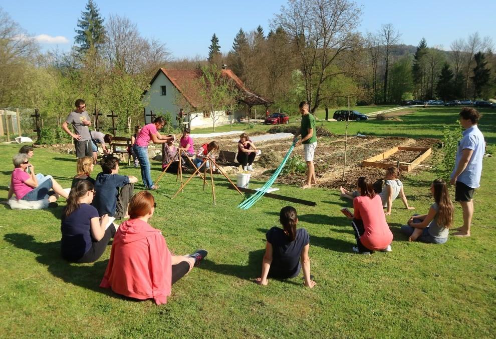 delavnice vrt obilja