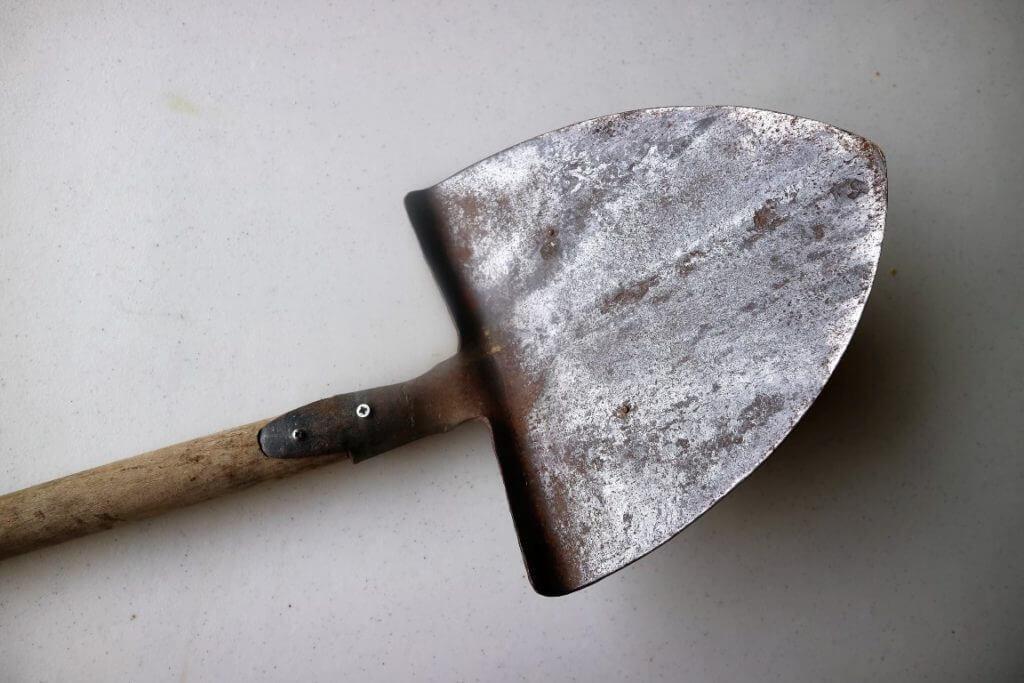 Lopata vrt obilja