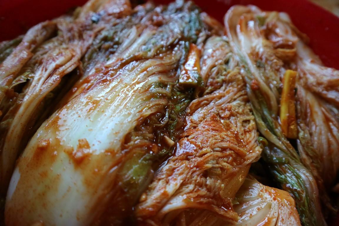 Kimchi kislo kitajsko zelje