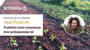Aljaž Plankl #5 - Praktični izzivi vrtnarjenja brez prekopavanja tal