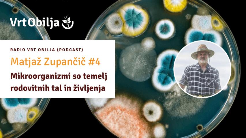 Matjaž Zupančič Maklen Vrt in mi Mikroorganizmi micronatura