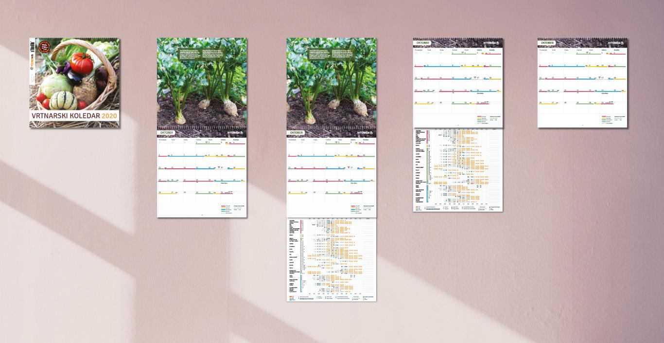Vrt Obilja koledar