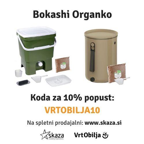 Koda za 10% popust Vrt Obilja skaza bokashi organko