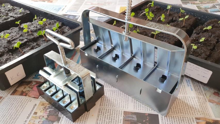 Substratnik in sadilne kocke