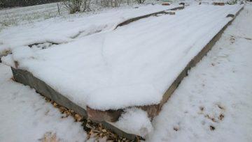 Sneg, gnojilo revežev