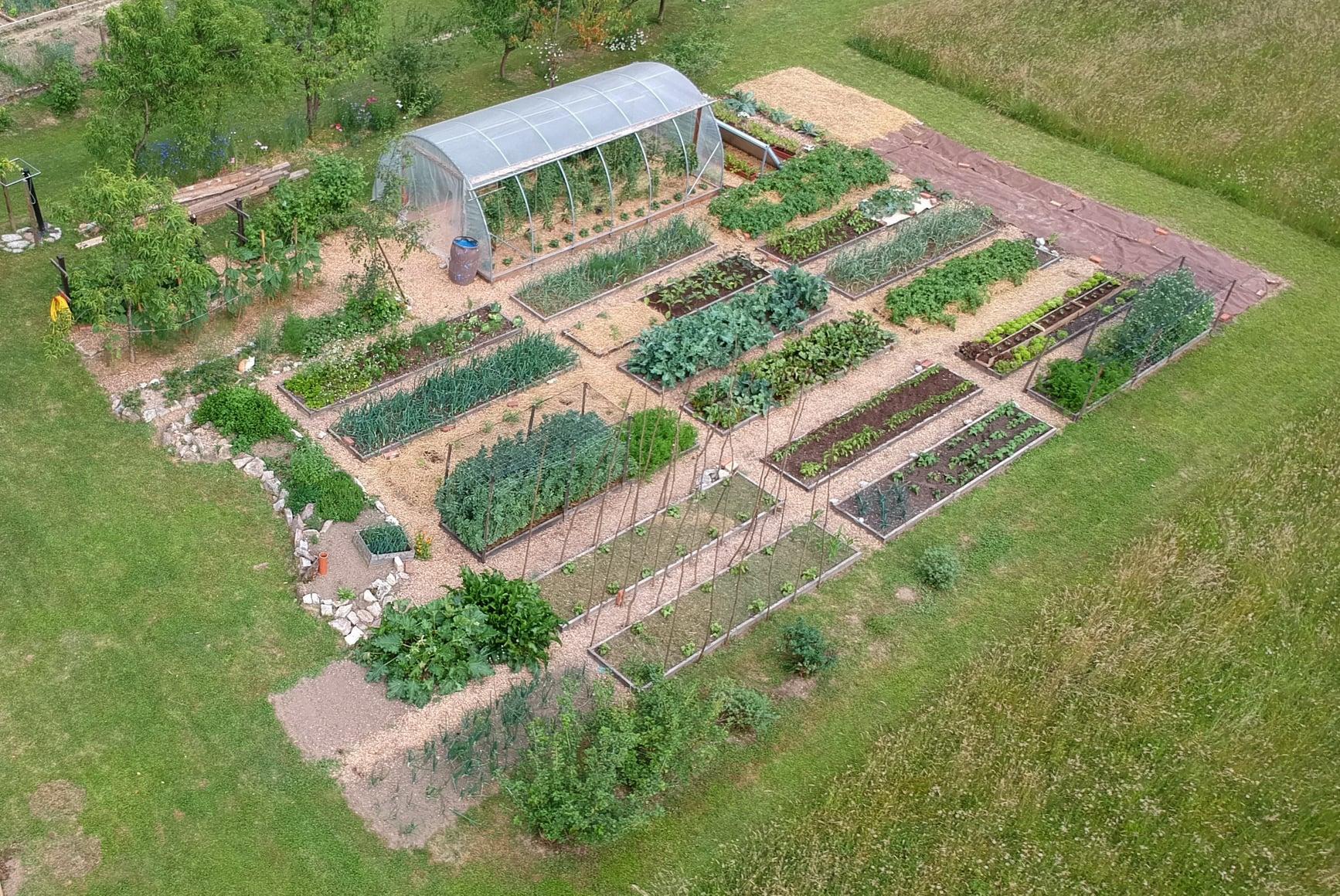 vrtnarska točka preloma Vrt Obilja