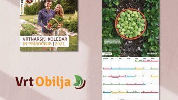 Vrtnarski koledar in priročnik 2021