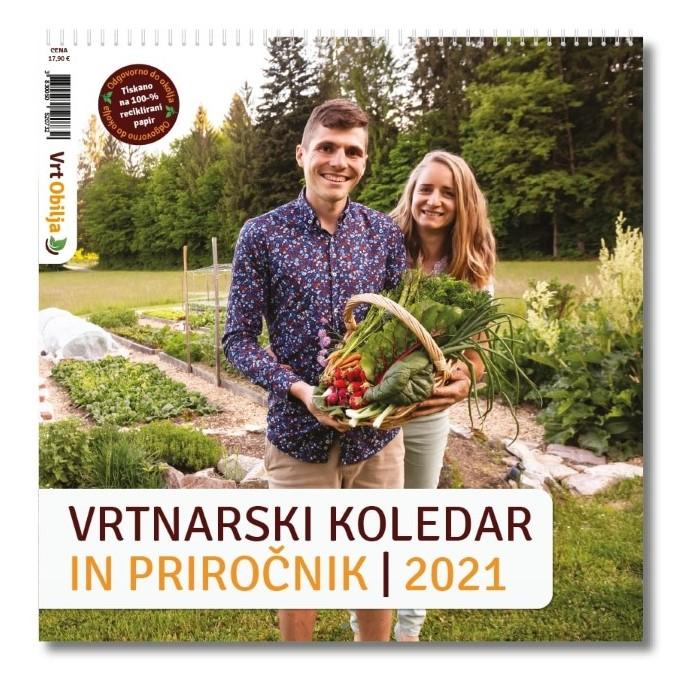Vrtnarski setveni koledar in priročnik Vrt Obilja stenski jpg 2021 (2)
