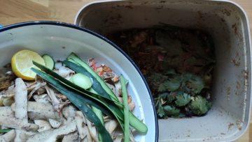 Kako velike organske odpadke fermentiramo?